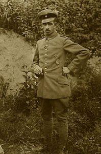 Gustav Dörr, der højtdekorerede krigsflyver, der nødlandede i Ørslev