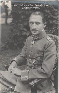 Den jødiske jagerflyver Wilhelm Frankl, der modtog kejsertysklands højeste miltære udmærkelse, Pour le Merite - én blandt en række højtdekorerede jøder.