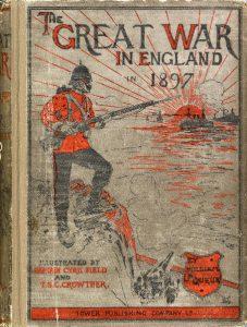 Forløberen, hvor skurkerollen spilles af den frø- & ostegnaskende franzose - og som blev uaktuel med den fransk-britiske alliance af 1904.